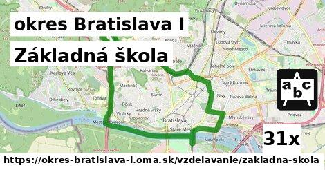 ilustračný obrázok k Základná škola, okres Bratislava I