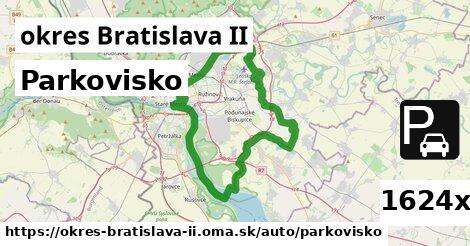 parkovisko v okres Bratislava II