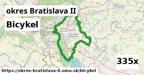 bicykel v okres Bratislava II