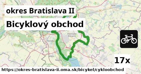 bicyklový obchod v okres Bratislava II