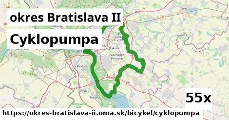 ilustračný obrázok k Cyklopumpa, okres Bratislava II