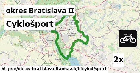 ilustračný obrázok k Cyklošport, okres Bratislava II