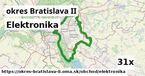 elektronika v okres Bratislava II