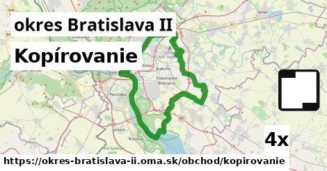 kopírovanie v okres Bratislava II