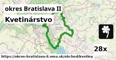 kvetinárstvo v okres Bratislava II