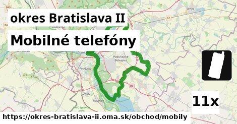 ilustračný obrázok k Mobilné telefóny, okres Bratislava II
