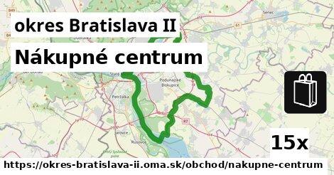 nákupné centrum v okres Bratislava II