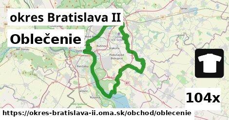 ilustračný obrázok k Oblečenie, okres Bratislava II