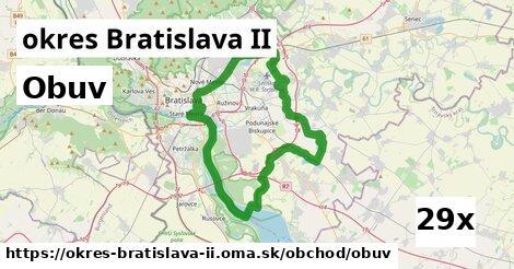 obuv v okres Bratislava II