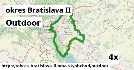 outdoor v okres Bratislava II