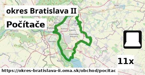 ilustračný obrázok k Počítače, okres Bratislava II