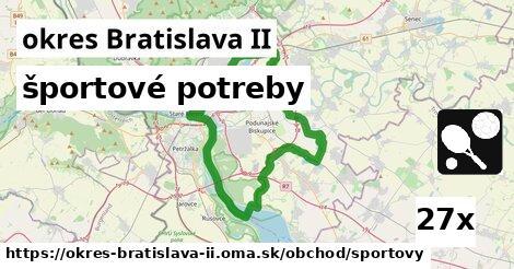 športové potreby v okres Bratislava II