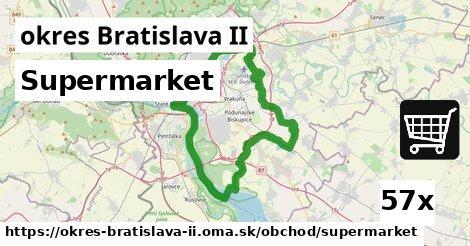supermarket v okres Bratislava II