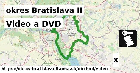 ilustračný obrázok k Video a DVD, okres Bratislava II