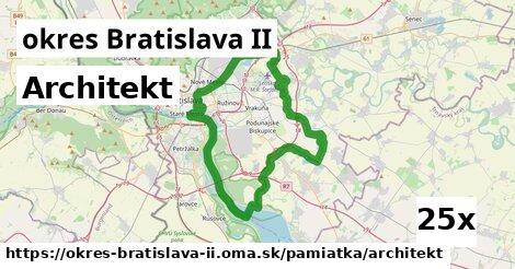 ilustračný obrázok k Architekt, okres Bratislava II