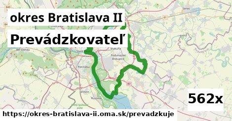 prevádzkovateľ v okres Bratislava II
