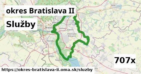 služby v okres Bratislava II