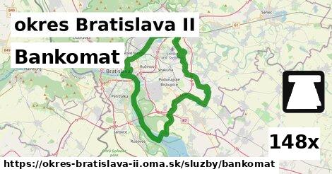 bankomat v okres Bratislava II