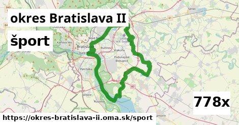 šport v okres Bratislava II