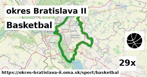 ilustračný obrázok k Basketbal, okres Bratislava II
