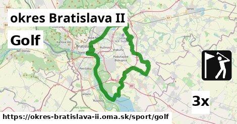 golf v okres Bratislava II