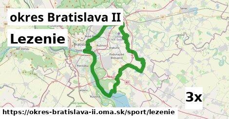 lezenie v okres Bratislava II
