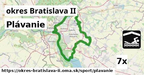 plávanie v okres Bratislava II