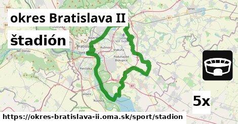 štadión v okres Bratislava II