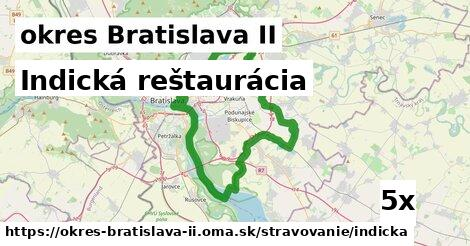 indická reštaurácia v okres Bratislava II