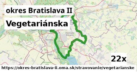 ilustračný obrázok k Vegetariánska, okres Bratislava II