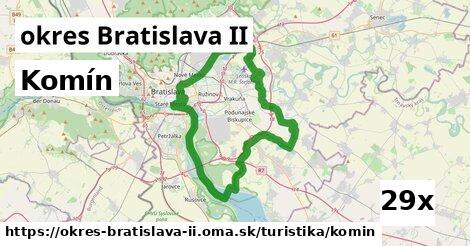 komín v okres Bratislava II