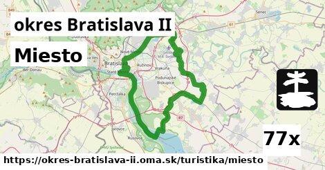 ilustračný obrázok k Miesto, okres Bratislava II