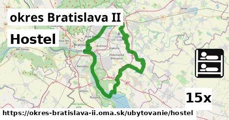 hostel v okres Bratislava II