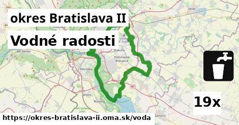 vodné radosti v okres Bratislava II