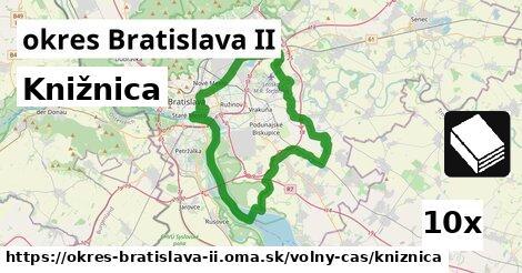 ilustračný obrázok k Knižnica, okres Bratislava II
