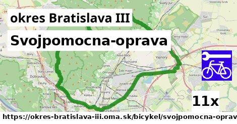 Svojpomocna-oprava, okres Bratislava III