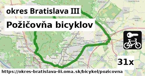 ilustračný obrázok k Požičovňa bicyklov, okres Bratislava III