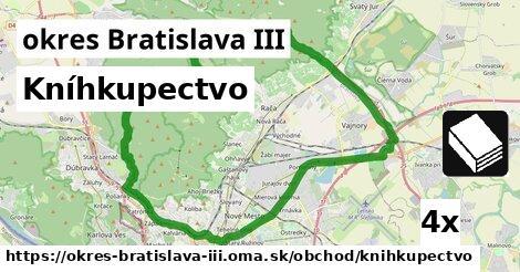 Kníhkupectvo, okres Bratislava III