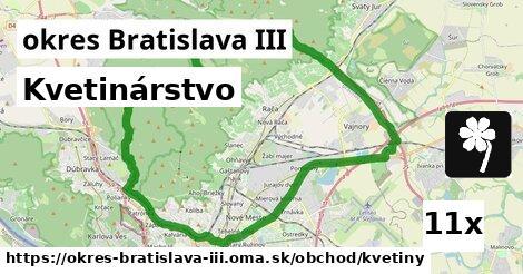 Kvetinárstvo, okres Bratislava III