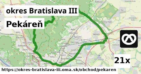 Pekáreň, okres Bratislava III