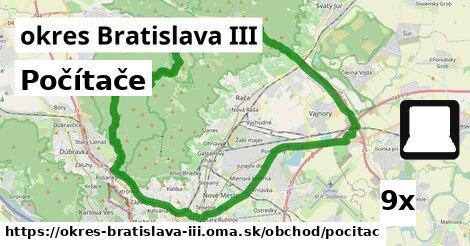 Počítače, okres Bratislava III