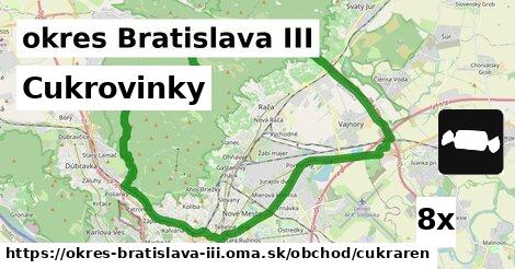 ilustračný obrázok k Cukrovinky, okres Bratislava III