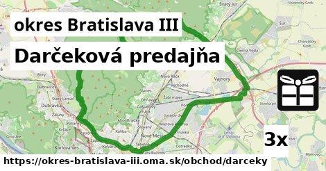 ilustračný obrázok k Darčeková predajňa, okres Bratislava III