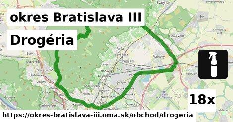 ilustračný obrázok k Drogéria, okres Bratislava III