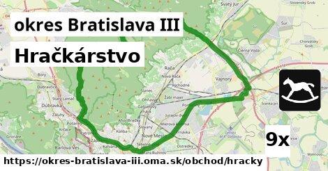 hračkárstvo v okres Bratislava III