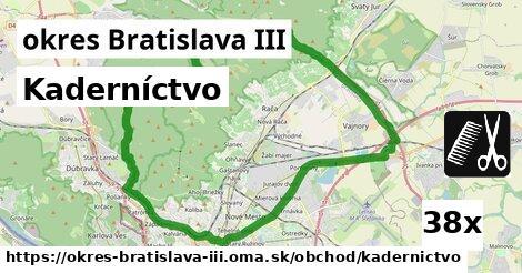 ilustračný obrázok k Kaderníctvo, okres Bratislava III