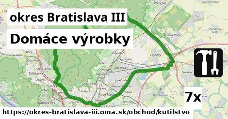 ilustračný obrázok k Domáce výrobky, okres Bratislava III