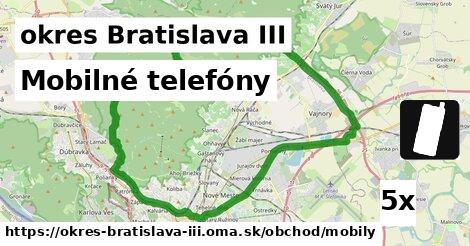 ilustračný obrázok k Mobilné telefóny, okres Bratislava III