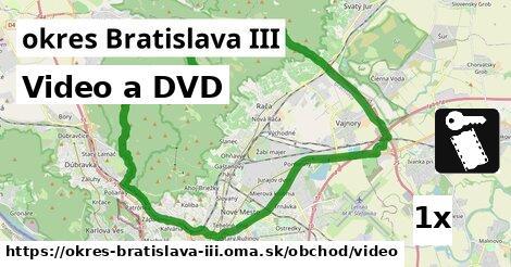 ilustračný obrázok k Video a DVD, okres Bratislava III