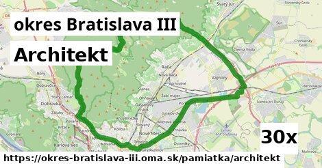 ilustračný obrázok k Architekt, okres Bratislava III